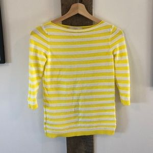 Pretty thin and textured stripped boatneck top